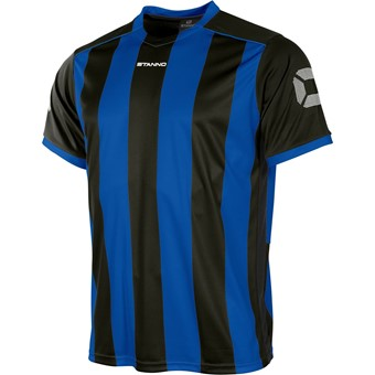 Picture of Stanno Brighton Shirt Korte Mouw - Royal / Zwart