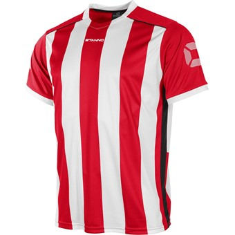 Picture of Stanno Brighton Shirt Korte Mouw - Rood / Wit