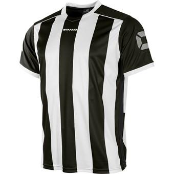 Picture of Stanno Brighton Shirt Korte Mouw Kinderen - Zwart / Wit