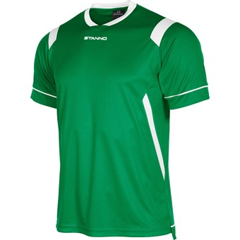 Picture of Stanno Arezzo Shirt Korte Mouw Kinderen - Groen / Wit