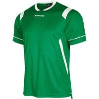 Stanno Arezzo Shirt Korte Mouw Kinderen - Groen / Wit