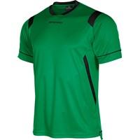 Stanno Arezzo Shirt Korte Mouw Kinderen - Groen / Zwart