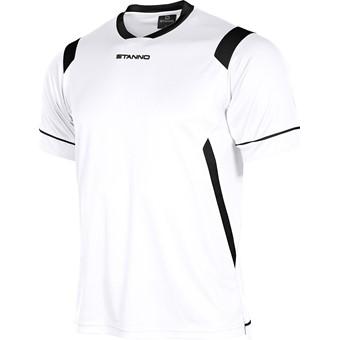 Picture of Stanno Arezzo Shirt Korte Mouw Kinderen - Wit / Zwart