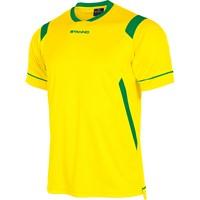 Stanno Arezzo Shirt Korte Mouw Kinderen - Geel / Groen