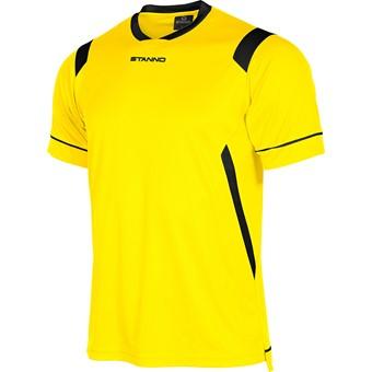 Picture of Stanno Arezzo Shirt Korte Mouw Kinderen - Geel / Zwart