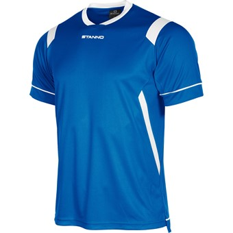 Picture of Stanno Arezzo Shirt Korte Mouw Kinderen - Royal / Wit