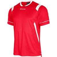 Stanno Arezzo Shirt Korte Mouw Kinderen - Rood / Wit