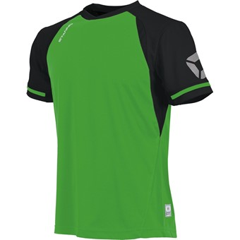 Picture of Stanno Liga Shirt Korte Mouw Kinderen - Bright Green / Zwart