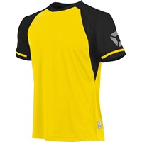 Stanno Liga Shirt Korte Mouw - Geel / Zwart