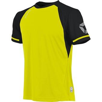 Picture of Stanno Liga Shirt Korte Mouw Kinderen - Fluogeel / Zwart