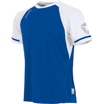Picture of Stanno Liga Shirt Korte Mouw - Royal / Wit