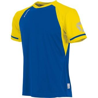 Picture of Stanno Liga Shirt Korte Mouw Kinderen - Royal / Geel