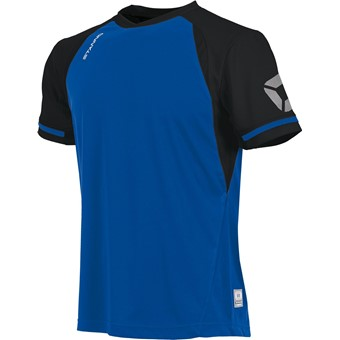 Picture of Stanno Liga Shirt Korte Mouw Kinderen - Royal / Zwart