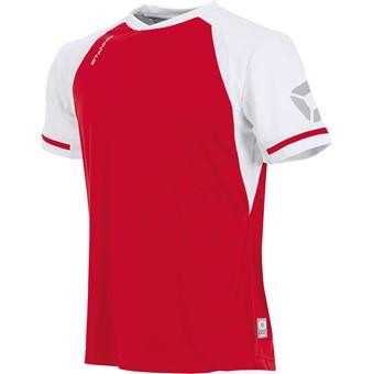 Picture of Stanno Liga Shirt Korte Mouw Kinderen - Rood / Wit