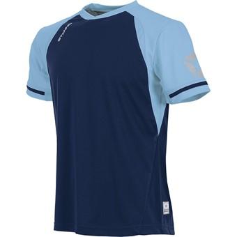 Picture of Stanno Liga Shirt Korte Mouw Kinderen - Marine / Hemelsblauw