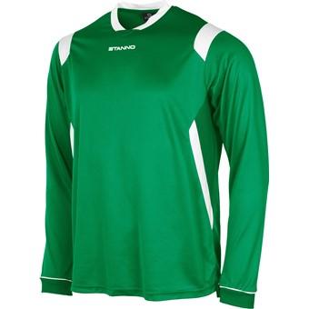 Picture of Stanno Arezzo Voetbalshirt Lange Mouw Kinderen - Groen / Wit
