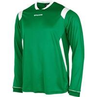 Stanno Arezzo Voetbalshirt Lange Mouw Kinderen - Groen / Wit