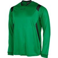 Stanno Arezzo Voetbalshirt Lange Mouw Kinderen - Groen / Zwart