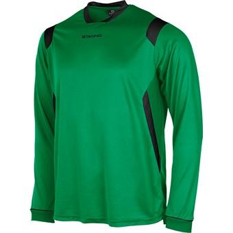 Picture of Stanno Arezzo Voetbalshirt Lange Mouw - Groen / Zwart