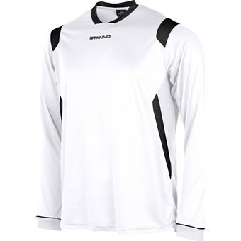 Picture of Stanno Arezzo Voetbalshirt Lange Mouw Kinderen - Wit / Zwart