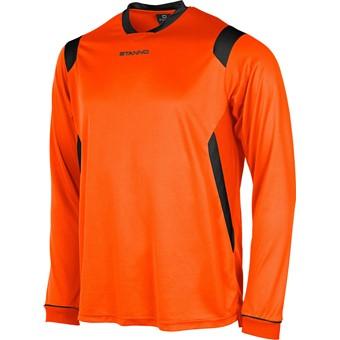 Picture of Stanno Arezzo Voetbalshirt Lange Mouw - Oranje / Zwart