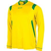Stanno Arezzo Voetbalshirt Lange Mouw - Geel / Groen