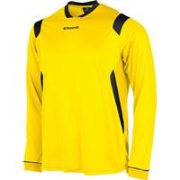 Stanno Arezzo Voetbalshirt Lange Mouw Kinderen - Geel / Zwart