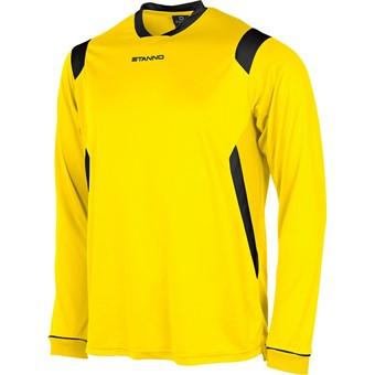 Picture of Stanno Arezzo Voetbalshirt Lange Mouw - Geel / Zwart