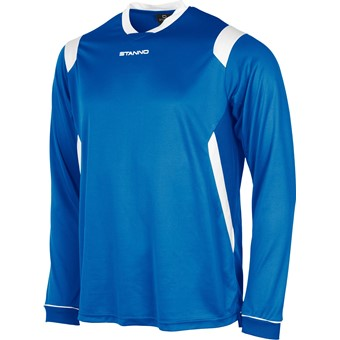 Picture of Stanno Arezzo Voetbalshirt Lange Mouw Kinderen - Royal / Wit