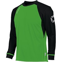 Stanno Liga Voetbalshirt Lange Mouw Kinderen - Bright Green / Zwart