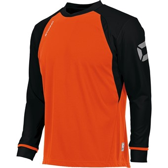 Picture of Stanno Liga Voetbalshirt Lange Mouw Kinderen - Fluo Oranje / Zwart