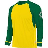 Stanno Liga Voetbalshirt Lange Mouw Kinderen - Geel / Groen
