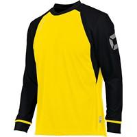 Stanno Liga Voetbalshirt Lange Mouw Kinderen - Geel / Zwart