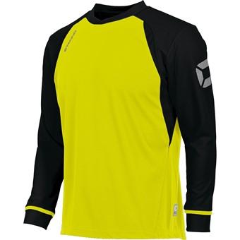 Picture of Stanno Liga Voetbalshirt Lange Mouw - Fluogeel / Zwart