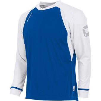 Picture of Stanno Liga Voetbalshirt Lange Mouw Kinderen - Royal / Wit