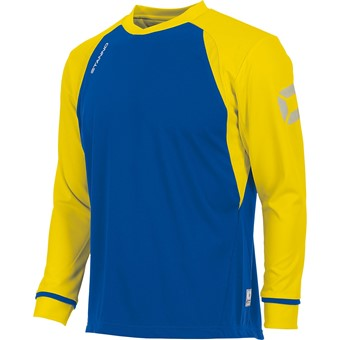 Picture of Stanno Liga Voetbalshirt Lange Mouw Kinderen - Royal / Geel