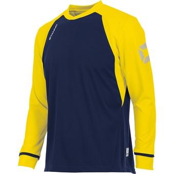 Picture of Stanno Liga Voetbalshirt Lange Mouw - Marine / Geel