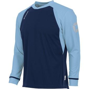 Picture of Stanno Liga Voetbalshirt Lange Mouw Kinderen - Marine / Hemelsblauw