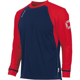 Picture of Stanno Liga Voetbalshirt Lange Mouw Kinderen - Marine / Rood