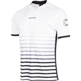 Picture of Stanno Fusion Shirt Korte Mouw - Wit / Zwart