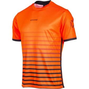 Picture of Stanno Fusion Shirt Korte Mouw - Fluo Oranje / Zwart