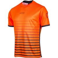 Stanno Fusion Shirt Korte Mouw - Fluo Oranje / Zwart