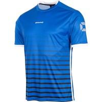 Stanno Fusion Shirt Korte Mouw - Royal / Zwart