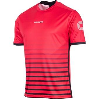 Picture of Stanno Fusion Shirt Korte Mouw Kinderen - Rood / Zwart