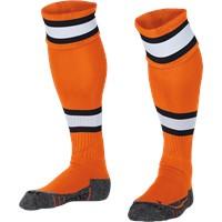 Stanno League Kousen - Oranje / Wit / Zwart