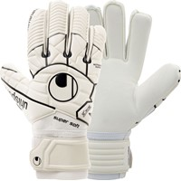 Uhlsport Comfort Textile Keepershandschoenen - Wit / Zwart
