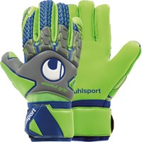 Uhlsport Tensiongreen Absolutgrip Hn Keepershandschoenen - Donkergrijs / Fluo Groen / Marine